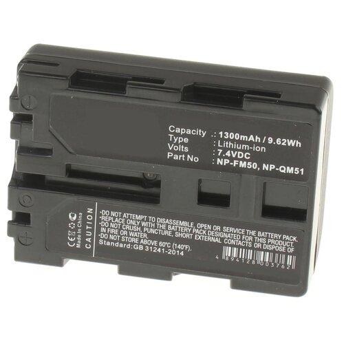Фото - Аккумуляторная батарея iBatt 1300mAh для Sony CCD-TRV118, DCR-DVD100E, DCR-PC103, DCR-PC104E, DCR-TRV70, DCR-TRV70K, HVL-ML20M аккумулятор ibatt ib u1 f324 3300mah для sony dcr sr62 dcr sr300 hdr hc7 hdr ux5 dcr sr100 hdr ux7 dcr sr45 hdr sr11e dcr sr65 hdr sr10e dcr sx40 dcr dvd610e dcr dvd106e dcr sr42 dcr sr47 hdr sr12e