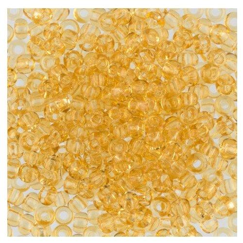 Бисер Preciosa , 10/0, 500 грамм, цвет: 10020 светло-желтый, Фурнитура для украшений  - купить со скидкой