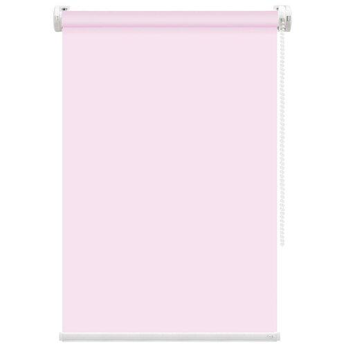 Рулонная штора FixLine Basic (розовый), 55х180 см