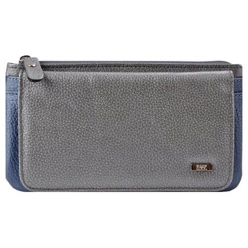 Кошелек ИНКАНТО GREY Esse, флотер серебро/серо-голубой, 66102