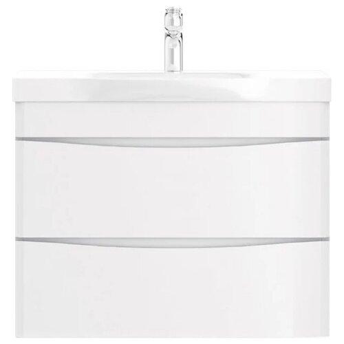 Фото - Тумба для ванной комнаты с раковиной AM.PM Like подвесная, ШхГхВ: 80х45х65 см, цвет: белый глянец тумба для ванной комнаты с раковиной am pm like напольная шхгхв 80х45х85 см цвет белый глянец