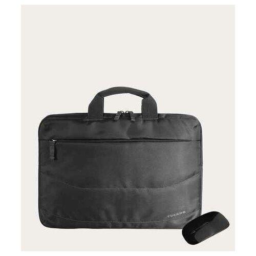 Сумка Tucano Borsa Idea PC bag 15.6 + MOUSE, цвет черный