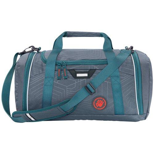 Фото - Сумка спортивная Coocazoo SporterPorter Streetman, серый/бирюзовый сумка спортивная coocazoo sporterporter springman мятный