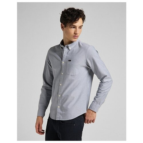 Рубашка Lee размер M серый