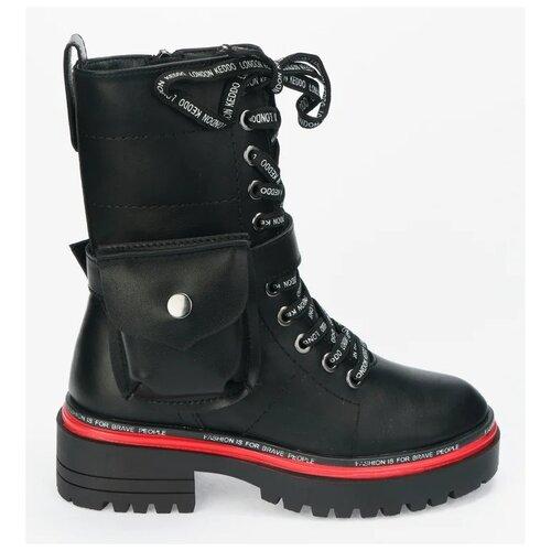 Ботинки KEDDO размер 36, черный