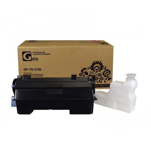 Картридж TK-3190 с бункером отработанного тонера для Kyocera EcoSys-P3055, P3060, M3655, M3660, черный (black), для лазерного принтера, совместимый