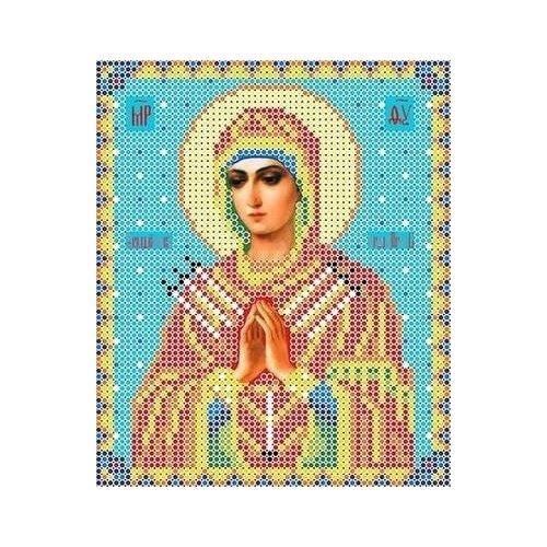Набор Богородица Семистрельная бисер 13х15 Каролинка КБИ 5018 13х15 Каролинка КБИ 5018)