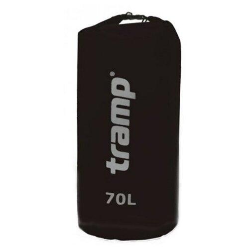 Гермомешок Tramp Нейлон 70 л TRA-104 (черный)