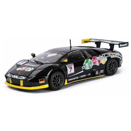 Bburago Машинка металлическая ралли Lamborghini Murcielago FIA GT, 1:24
