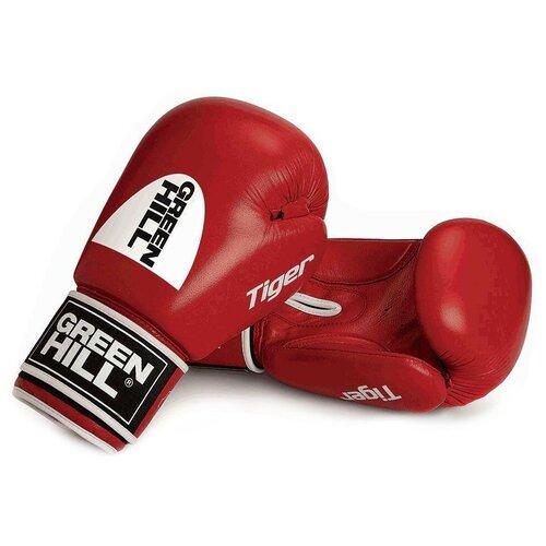 Перчатки боксёрские GREEN HILL TIGER арт. BGT-2010c-12-RD, 12 oz