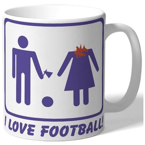 Кружка I love football!
