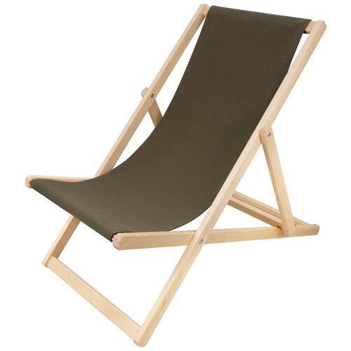 Шезлонг KETT-UP PICNIC ECO, оливковый стул kett up picnic eco дерево цвет беленый