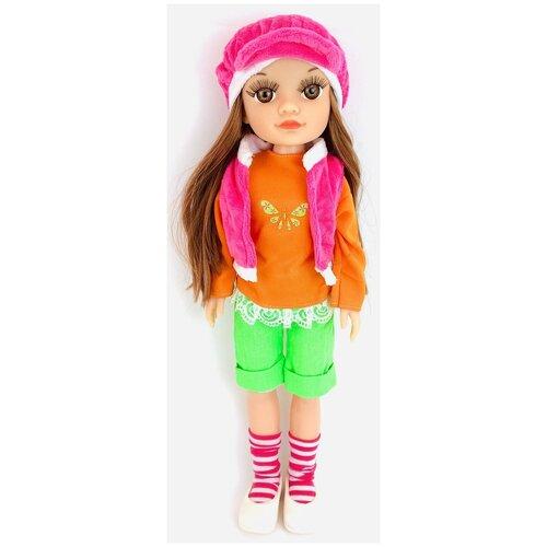 Интерактивная кукла Сонечка 5412-в PlaySmart, говорящая, поет песню про маму, 42 см