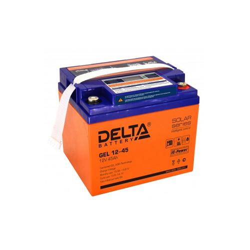Аккумулятор Delta GEL 12-45 аккумулятор delta battery gel 12 55