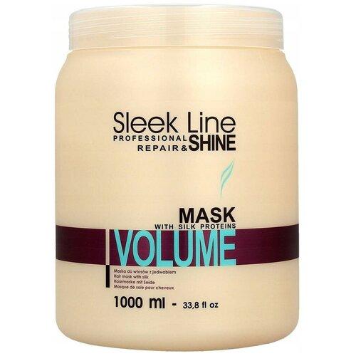 Маска для волос Stapiz Sleek Line Volume Маска, 1 л.