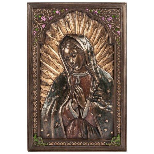 WS-500/ 1 Панно Дева Мария Гваделупская фигура дева мария бронза золото 24см 1079148