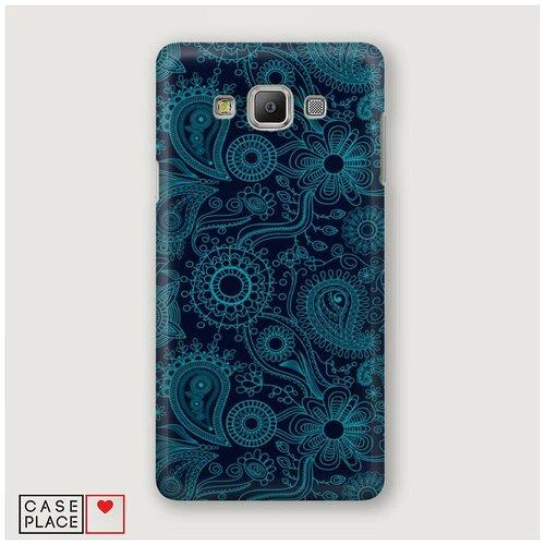Чехол Пластиковый Samsung Galaxy A5 Турецкие узоры