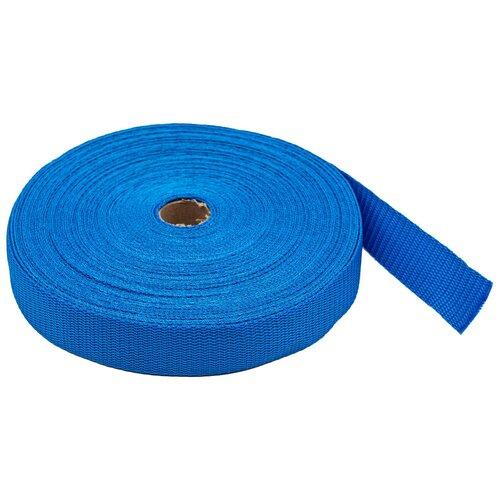 Купить С3075Г17 Стропа-30 рис.8358 30мм*25м, 15, 8 г/м (14 синий) 25 м, Красная лента, Технические ленты и тесьма
