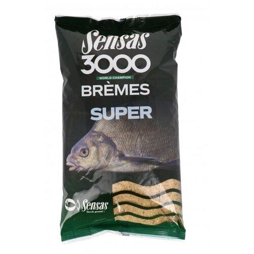 Прикормка Sensas 3000 Super BREMES 1кг