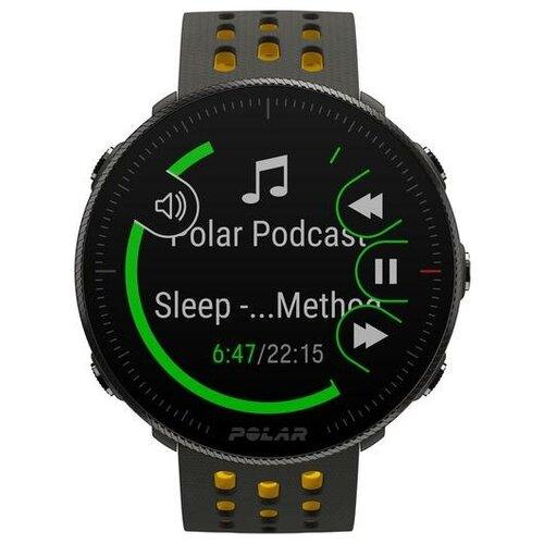 Умные часы Polar Vantage M2 S / L, серый / желтый