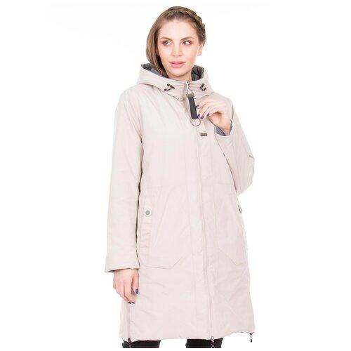 Фото - Куртка Daser, размер 54, бежевый куртка icepeak 650010588iv размер 140 бежевый