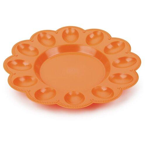 Тарелка для яиц Berossi, цвет оранжевый