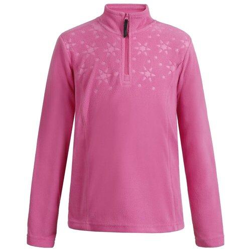 Толстовка ICEPEAK Lometa Jr 651840596IV, размер 140, hot pink