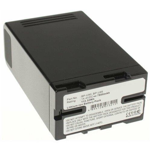Аккумулятор iBatt iB-U1-F422 7800mAh для Sony PMW-200, PMW-EX3, PXW-X200, PMW-EX1, PMW-F3, PXW-X160, PMW-100, PXW-X180, PMW-150, PMW-F3L, PMW-F3K, PMW-160,