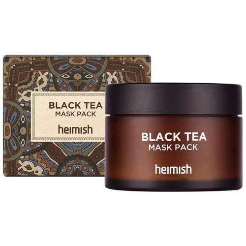 Маска от оттеков на лице Heimish Black Tea Mask Pack, 110 мл  - Купить