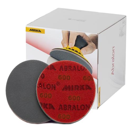 Абразивные круги Mirka Abralon Р600 150мм