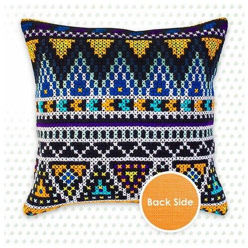 Набор для вышивания подушки Орнаменты, Luca-S 40 х 40 см ( PB167 ) набор для вышивания подушки collection d art 40 х 40 см 5018