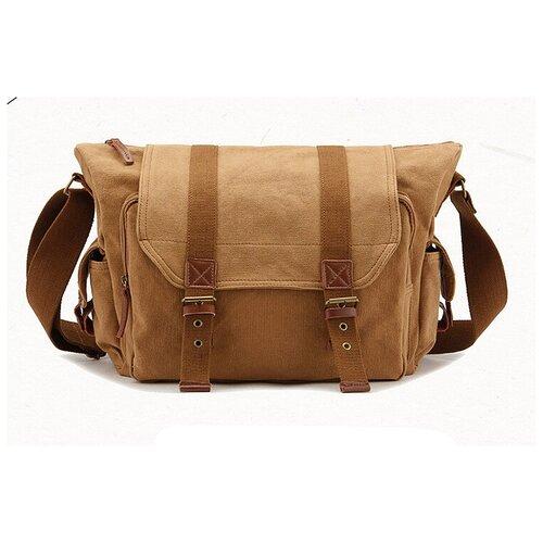 Фото - Водонепроницаемый прочный холщовой чехол-сумка MyPads TC-1803 для фотоаппарата Canon/ Nikon/ Sony/ FujiFilm/ Panasonic/ Pentax через плечо коричневый сумки для детей upixel сумка на плечо by nb012