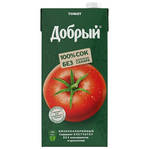 Сок Добрый томат 2 л 2 шт.