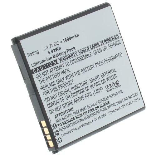 Аккумуляторная батарея iBatt 1600mAh для TLi018D2