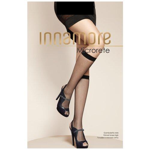 Капроновые гольфы Innamore Microrete GB, размер UNI, nero