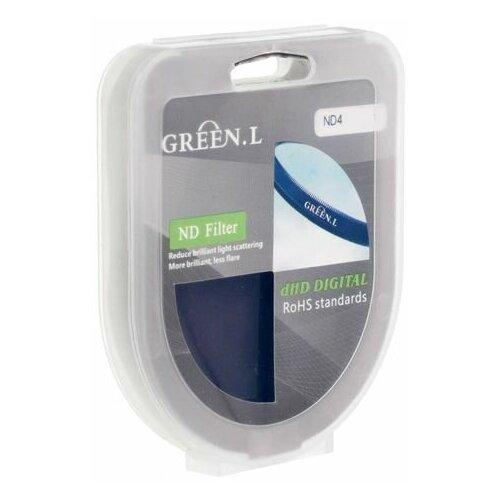 Фото - Светофильтр Green-L ND 4 - 72mm светофильтр green l soft 40 5mm