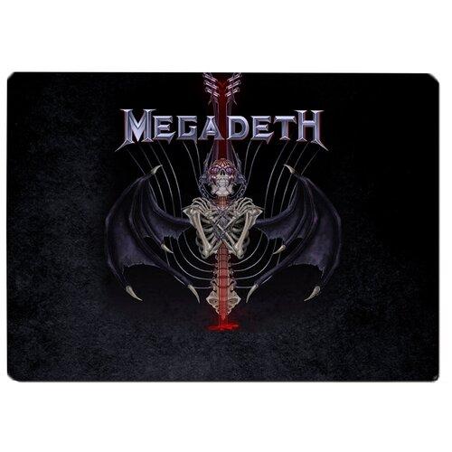 Коврик для мыши Megadeth скелет летучей мыши
