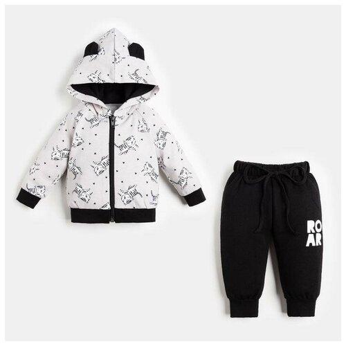 Купить Комплект одежды Крошка Я размер 62-68, серый, Комплекты