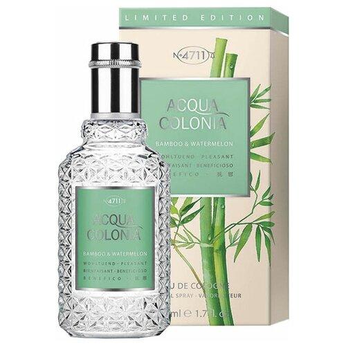 Купить 4711 Acqua Colonia Pleasant - Bamboo & Watermelon Одеколон, 50 мл