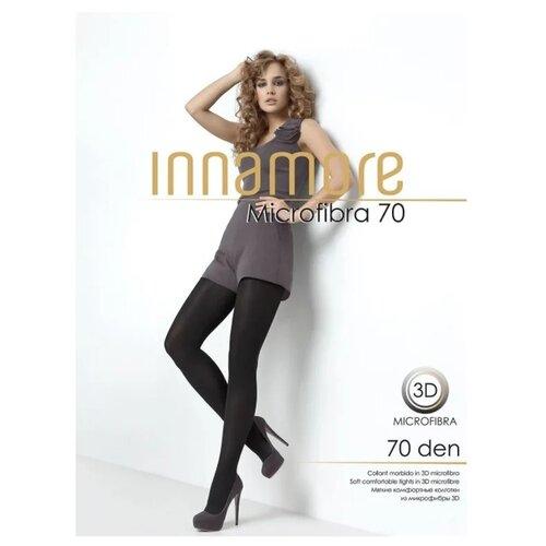 Фото - Колготки Innamore Microfibra, 70 den, размер 2-S, daino (коричневый), 2 пары колготки innamore microfibra 100 den размер 2 s moka коричневый