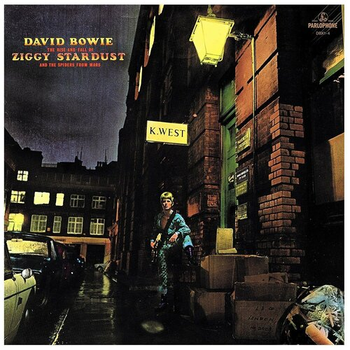 Виниловая пластинка David Bowie. The Rise And Fall Of Ziggy Stardust And The Spiders From Mars (LP) david bowie ziggy stardust