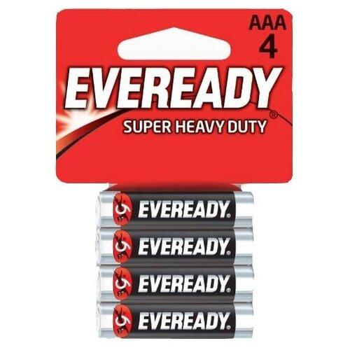 Батарейки EVEREADY R03 типа AAA - 4 шт. батарейка aaa energizer eveready r03 1 5v 4 штуки e301156200