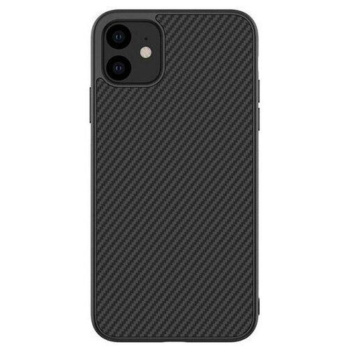 Чехол Nillkin Synthetic Fiber для iPhone 11, цвет Черный карбон (6902048184510) чехол для iphone 7 plus nillkin synthetic fiber черный