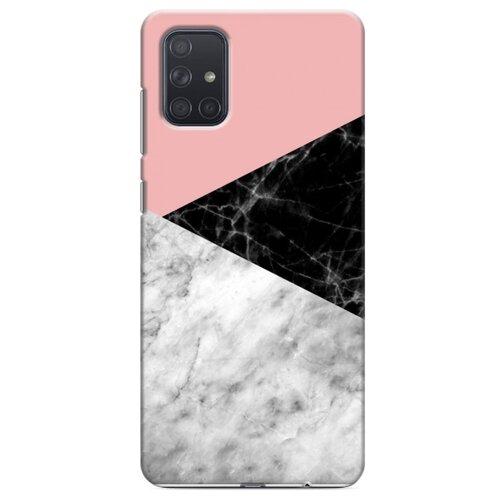 Дизайнерский пластиковый чехол для Samsung Galaxy A71 Мраморные тренды