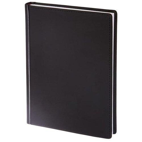 Купить Ежедневник недатированный Attache Velvet искусственная кожа Soft Touch A5+ 136 листов черный (146х206 мм) 1 шт., Ежедневники
