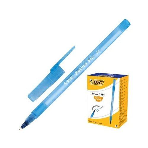 Ручка шариковая BIC Round Stick Classic толщина письма 0,32мм, синяя 921403