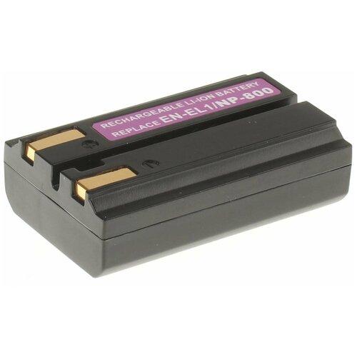 Фото - Аккумулятор iBatt iB-B1-F182 800mAh для Konica, Nikon EN-EL1, NP-800, аккумулятор fb en el1 для nikon coolpix 4800 5000 5400 5700 8700
