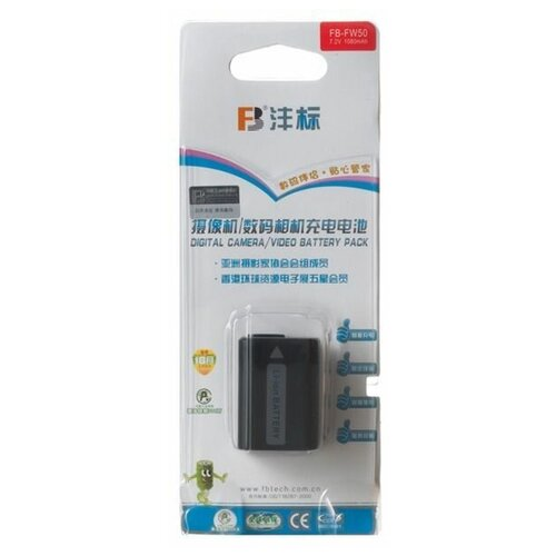 Фото - Аккумулятор FB NP-FW50 для Sony NEX 3, 5, 5n, 5r, 6, 7, A7R, A7, 3N, A5000, A6000 аккумулятор acmepower np fw50