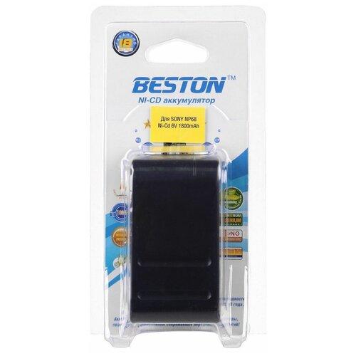 Аккумулятор для видеокамер BESTON SONY BST-NP68, NI-CD, 6 В, 1800 мАч
