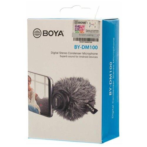 Микрофон BOYA BY-DM100 для Type-C devices
